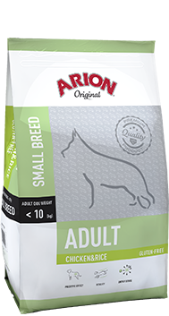 ARION Original Adult Small Breed Chicken&Rice 3kg