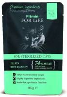 Fitmin Cat For Life Sterilized Salmon 85g