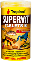 TROPICAL SuperVit Tablets B 250ml 830zt.